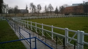M.L. TRACK PVC-U FENCE 1,20M. 2 HEIGHTS