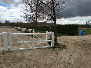 GATE FENCE PVC-U 2MS