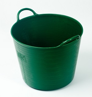 RUBBER FEEDER BUCKET 25L.S. SEVERAL COLOURS