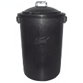 GARBAGE BUCKET 90 LS. GREEN