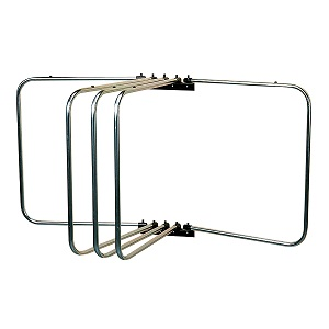 GALVANISED FIVE ARM RUG RACK
