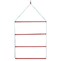 HANGING BLANKET RACK 4 BARS