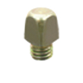 SCREW IN STUD 15MM. 3/8 (100 UNITS )