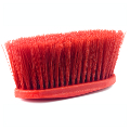 LONG BRISTLE FIBER BRUSH RED