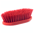 MEDIUM BRISTLE FIBER BRUSH RED