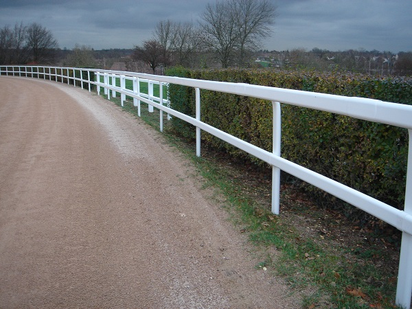 M.L. DOUBLE SWAN NECK FENCE