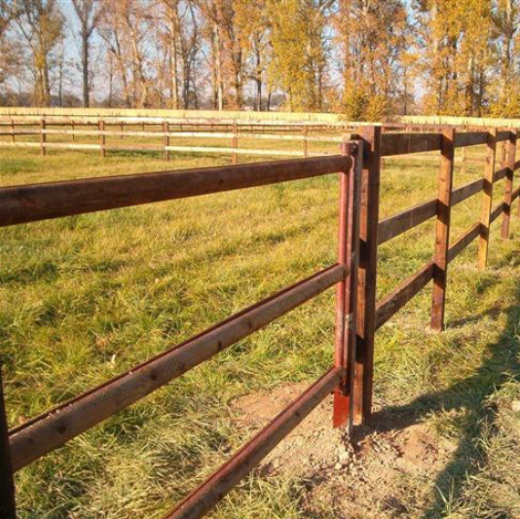 FIELD GATE 2,5M. CREOSOTED