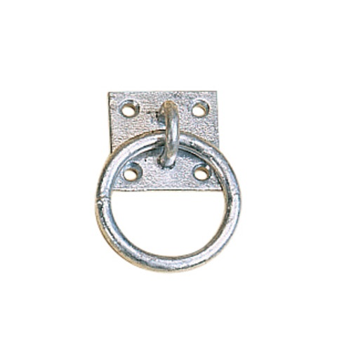 GALVANISED PLATE TIE RING