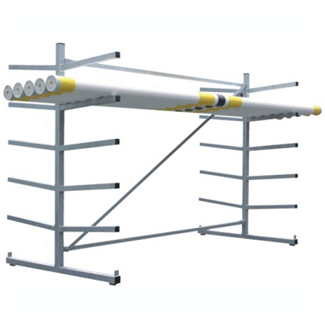 GALVANISED POLES SHELVING