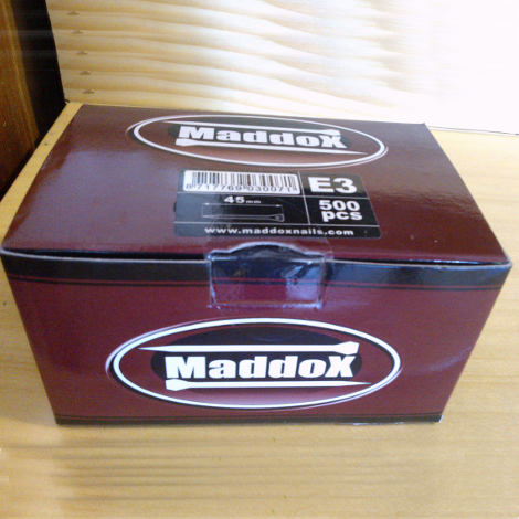 NAILS MADDOX JC2 (500 UN.)