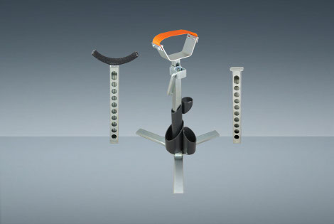 FOOT STAND ADJUSTABLE SUPPORT