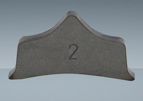 PLATE FOR BACK STRAIGHT BAR (PAIR)