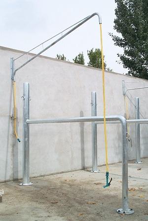 Equipamiento de instalaciones h picas tienda h pica lupa - Vallados de obra ...